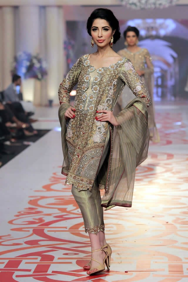 Latest Pakistani Formal Dresses 2017 Latest Asian Bridal Wear